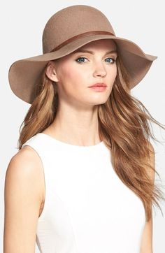 Nordstrom+Floppy+Wool+Hat+available+at+#Nordstrom..... Tan color