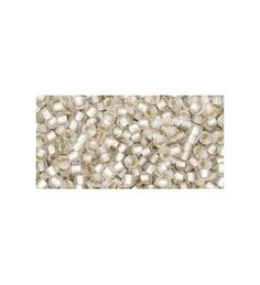 TR-11-21F Silver-Lined Frosted Crystal TOHO Seemnehelmed  Round seed beads TOHO of the size 11/0 are usually used in the handmade production jewelry for women and as also other handwork.
