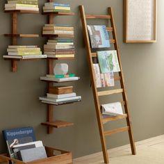 Recycled Golden Teak Ladder | VivaTerra