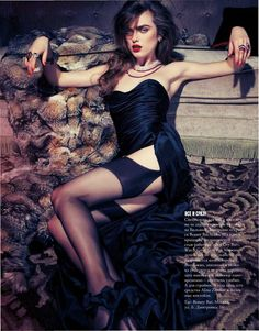 USA Fashion | Music News: Sophie Vlaming for Marie Claire Russia January 201...