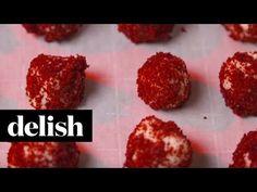 Red Velvet Cheesecake Bites - How to Make Red Velvet Cheesecake Bites