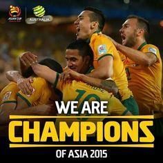 Australia  Asian  Champions  2015