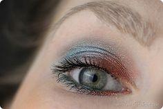 Urban Decay UD Afterdark Eyeshadow Lidschatten Palette Make uo Schminken Look Review AMU Instagram MAC Kiko Kajal Wasserlinie