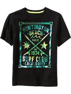 Boys Surf Graphic Tees
