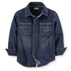 Will Denim Button-Front Shirt