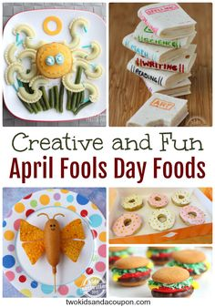 Looking for some great April Fool's Day recipes to prank your kids this April 1? Here are our favorites!