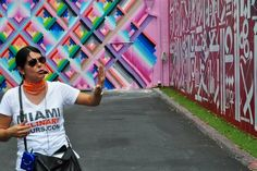 Covering the Wynwood walls at the Wynwood food tour by Miami Culinary Tours http://www.miamiculinarytours.com