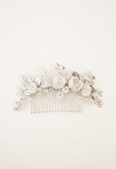 Silver Bridal Hair Comb from Elibre Handmade