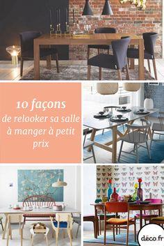 Mobilier, palette de couleurs, déco de table et accessoires pop : voici 10 manières de changer la déco de votre salle à manger