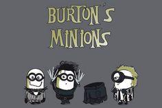 Minions de Tim Burton.