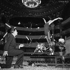 Salvador Dalí, Serge Lifar - Palais Garnier Paris, 1950