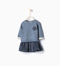 Printed dress-Dresses and Jumpsuits-Baby girl-Baby | 3 months - 3 years-KIDS | ZARA United States