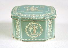 Vintage tin, Horner candy box
