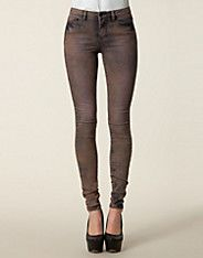 Wonder Vintage Jeans - Vero Moda - Purple/blue - Jeans - Clothing - NELLY.COM
