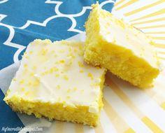 Lemon Cream Cheese Brownies!