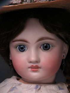 """22"""" German Sonneberg 136 Child with French Jumeau Look"""