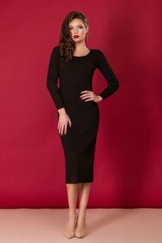 Rochii online High Neck Dress, Black, Dresses, Fashion, Turtleneck Dress, Vestidos, Moda, Black People, Fashion Styles
