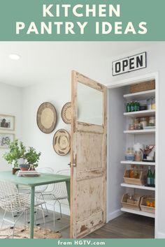 These photos prove pantries can be stylish and well-organized. Check out these 20 ideas on how to upgrade your kitchen pantry.
