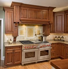 """European Traditional Custom Kitchen Design Features 60"""" Wolf Range in Doylestown, PA  - done by www.htrenovations.com #home #house #kitchen"""