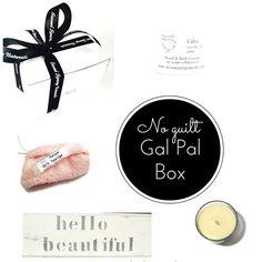 3 Gal Pals - 3 Boxes - 3 months - Subscription Box 22.00 per month