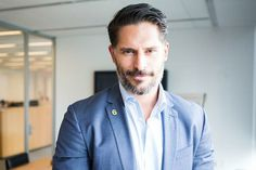 Joe Manganiello  from True Blood joins the campaign and wears his Got Your 6 pin on The Today Show & Cosmo Live