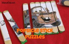 busy bags for 2 year olds | My 4 year old loves these popsicle stick puzzles. My two year old ...