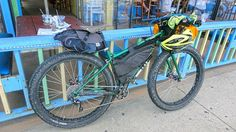 Bikepacking Rig (and gear layout!)