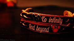 Disney/Pixar bracelets; OhMyGaaaawd. Me & my future boobear NEEDS to get these when we go to Disney! ♥
