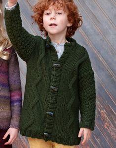 Revista Niños 79 Otoño / Invierno | 33: Niños Chaqueta | Verde oscuro