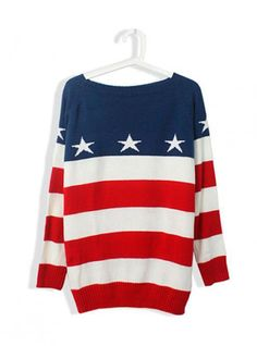 Product search_Striped Long Sleeve with Star Sweater_udobuy - Fashion Dress with Free Shipping