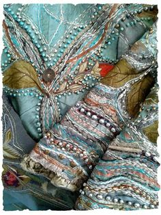 Beautiful embroidery detail