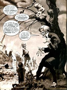 Pencil Ink: a blog featuring golden, silver and bronze age comic book art and artists: Creepy #66 - Bernie Wrightson art
