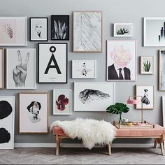 Gallery Wall Creative Home Decor Inspiration Art Eclectic Office
