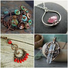Wire wrapping beads to create unique pieces of handmade jewelry is fun, easy and slightly addicting! If you enjoy working with color, patterns and puzzles – this technique is for...Read More