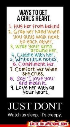 take notes guys!