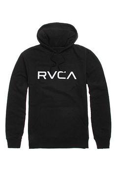 77535c6c631fe4 Big RVCA Pullover Hoodie Sweater Hoodie