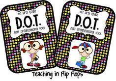 Teaching in Flip Flops: Classroom Binders- supply list and management