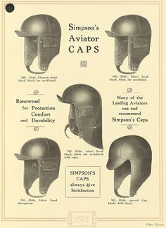 """Simpsons aviator CAPS, pinned from the wonderful blog; """"My Ear-Trumpet Has Been Struck By Lightning"""""""