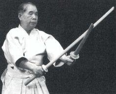 Shimizu Takaji of the Shinto Muso-ryu