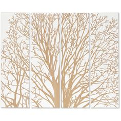 Arbor Spring Tree White Carved Wood Wall Mural Art ($1,303) ❤ liked on Polyvore featuring home, home decor, wall art, white wood panel, wooden wall panels, wooden tree, wood wall panels and white tree