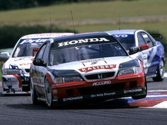 1995 Honda Accord BTCC race racing