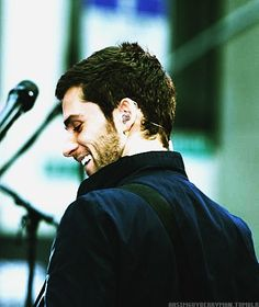 Guy Berryman | O my gosh he is actually smiling in this picture
