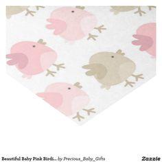 """Beautiful Baby Pink Birdie Chicks 17"""" X 23"""" Tissue Paper"""
