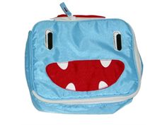 Arctic Zone Blue Smile Monster Soft Lunch Box Insulated Smile Lunch Bag Lunchbox