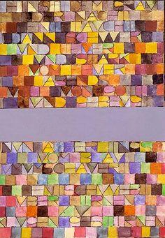 Paul Klee 1879-1940 | Swiss expressionist painter | TuttArt@ | Pittura * Scultura * Poesia * Musica |