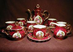 "fullxin : Victorian Fine Bone China Tea Set "" Empress by YMM """