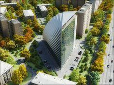 Cellular Office Building by ~Neellss on deviantART