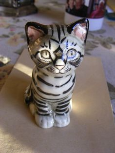 Early Seneshall Studio Pottery Kitten Cat | eBay