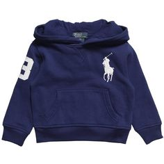 Boys Navy Blue Hooded Top ($93) ❤ liked on Polyvore featuring baby, baby boy, kids, baby clothes and baby stuff
