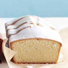 This citrusy loaf gets a thorough coating of an intoxicating glaze that helps keep this pound cake moist.